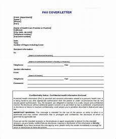 Fax Format Sample 9 Confidential Fax Cover Sheet Templates Doc Pdf
