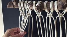 how to do macrame knots alternating square knot