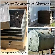 Composting Methods Many Composting Methods