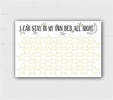 Stay In Bed Chart Printable Sleep Reward Chart Bed Time I Can Stay In My Own Bed Sleep