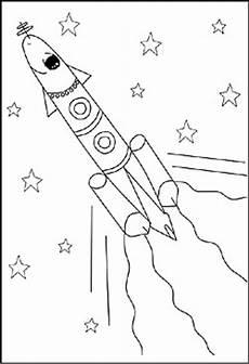Ausmalbilder Rakete Weltraum Weltraum Malvorlagen Ausmalbilder