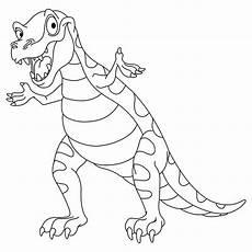 dino malvorlage pdf ausmalbilder boeser dinosaurier dinosaurier zum ausmalen