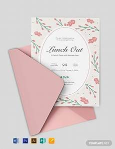 Lunch Invitation Message 9 Free Lunch Invitation Templates Word Psd Indesign