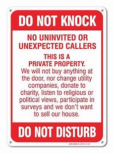 Do Not Disturb Signs Printable No Soliciting Sign Do Not Knock Do Not Disturb Sign