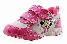 Minnie Mouse Shoes With Lights Disney Minnie Mouse Toddler Girl S White Fuchsia Light Up