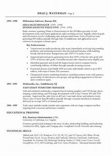 A Chronological Resumes Reverse Chronological Resume Example Sample