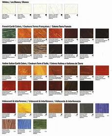 Williamsburg Color Chart Williamsburg Langridge Artist Colours