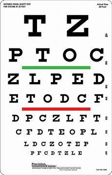 Baby Vision Chart Snellen Eye Test Chart 6m Hibernia