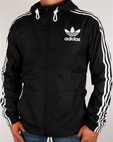 adidas coats for black adidas originals california windbreaker black jacket coat mens