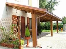 come costruire una tettoia porticato con colonne ad una falda linea classica