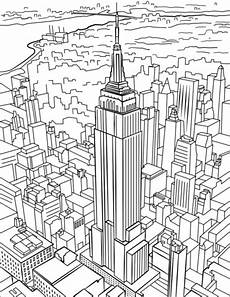 New York Malvorlagen Ausmalbilder New York