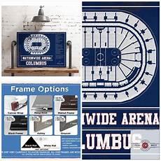 Nationwide Blue Jackets Seating Chart Columbus Blue Jackets Nationwide Arena Seating Chart