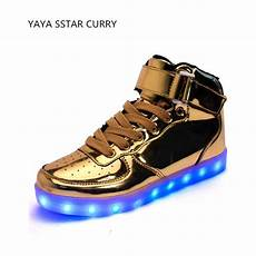 Air Light Shoes 2017 New High To Help Light Shoes Gold And Silver Led
