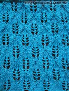 lace knitting pattern 16 fern lace stitch knitting