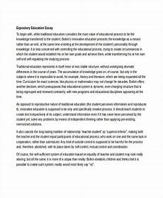 An Essay About Health Free 6 Expository Essay Examples Amp Samples In Doc Examples
