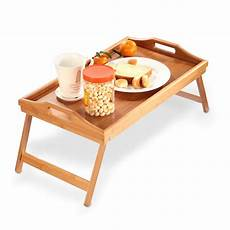 bed tray table breakfast tray bamboo folding bed table