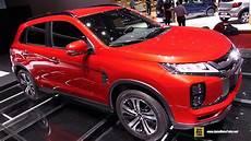 mitsubishi asx 2020 interior 2020 mitsubishi asx exterior and interior walkaround