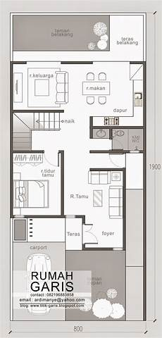 Narrow House Floor Plan Two Story Narrow Lot House Plan Eplans