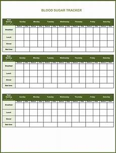 Blood Sugar Levels Chart Template 5 Free Printable Blood Sugar Log Templates Kamal