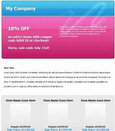 Promo Email Template Email Templates Newsletter Templates Sureresponse Com