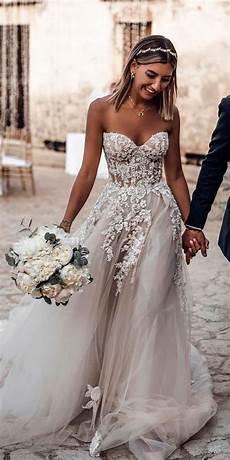 gown tulle light grey boho wedding dresses sweetheart