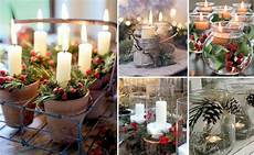 immagini candele natalizie decorazioni natalizie