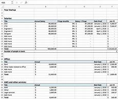 Excel Startup Template Excel For Startups Simple Financial Models And Dashboards