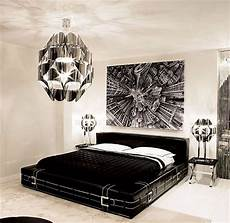 Black And White Modern Bedrooms Sleek And Modern Black And White Bedroom Ideas Master