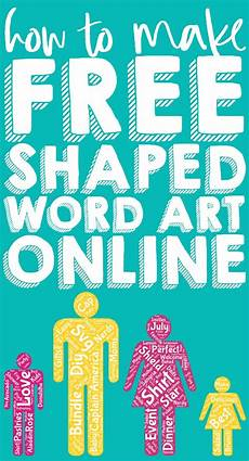 Design Your Own Online Lettering How To Make Free Word Art Online In Fun Shapes The Love