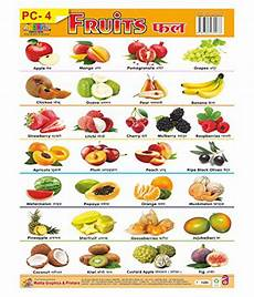 Vegetable Picture Chart Quot Wall Charts Plastic Non Tearable With Set Of 3 Charts