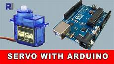 Arduino Servo Motor Control How To Control Servo Motor With Arduino With And Without