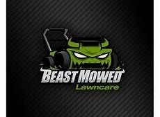Lawn Mowing Business Name Ideas Beast Mowed Lawncare Needs Help Logo Logo Design 99designs