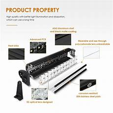 Auxbeam 52 Inch Curved Light Bar 52 Quot Curved Led Light Bar Cree Combo With 5d Lens 300w