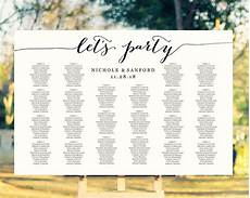 Table Seating Chart For Wedding Reception Template Let S Party Seating Charts 183 Wedding Templates And Printables