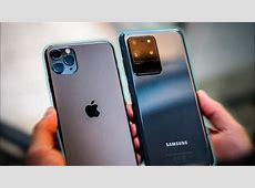 La ETERNA RIVALIDAD: Galaxy S20 Ultra vs iPhone 11 Pro Max