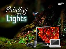 Samsung Led Light Singapore Samsung Singapore Announces Quot Painting With Lights With