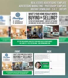 Real Estate Advertising Words Real Estate Advertising Postcard Template Editable In