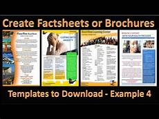 How To Make A Good Leaflet Make Brochure How To Make Brochures In Microsoft