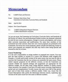Business Proposal Memo Sample New Proposal Memo