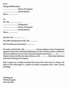 Proof Of Employment Templates Employment Verification Letter 40 Sample Letters And