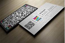 Qrcode Business Cards Qr Code Business Card Business Card Templates On