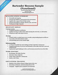 Summary Of Qualifications On Resume Create A Resume Profile Steps Tips Amp Examples Resume