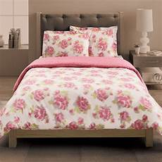 new pink white floral 3 xl comforter duvet set