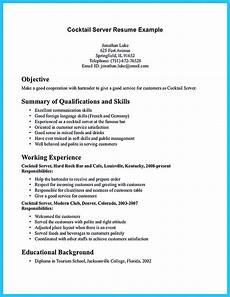 Bartending Resume Sample Impressive Bartender Resume Sample That Brings You To A