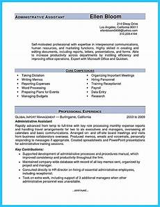 Admin Assistant Resume Skills Sample To Make Administrative Assistant Resume