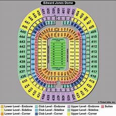 Edward Jones Dome Seating Chart Rows Busch Stadium Interactive Seating Chart For Cardinals
