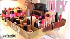 diy organizador diy organizador sencillo para maquillaje reciclaje