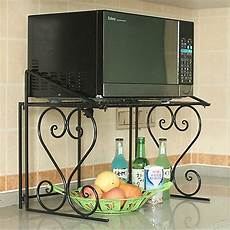 2 tier metall microwave oven shelf kitchen shelf microwave