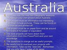 Australian Presentation Geography Project Australia Presentation For 3rd 5th