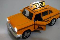 Taxi Yellow Light Clip Taxi New York Yellow Cab 1 32 Diecast Car Music Sound